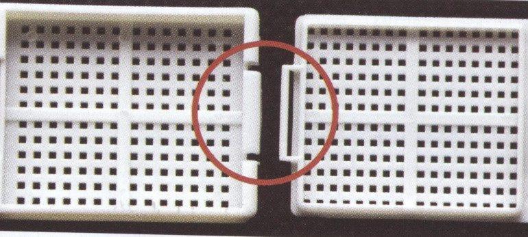 Embeding kaseta za kalupljenje sa poklopcem
