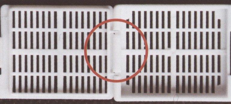 Embeding kaseta za kalupljenje sa poklopcem i trakastim otvorima
